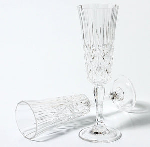 ACRYLIC CHAMPAGNE GLASS - CLEAR