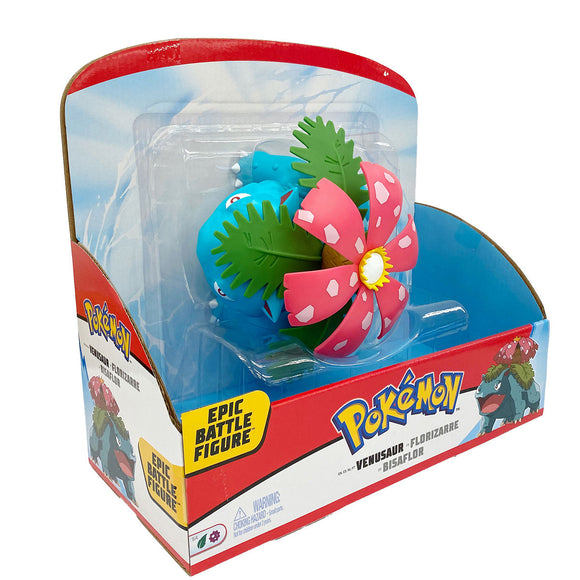 a photo of the product: Pokemon Epic Battle Figure - Venasaur