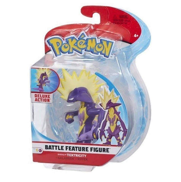 a photo of the product: Pokemon Battle Feature Figure Toxtricity
