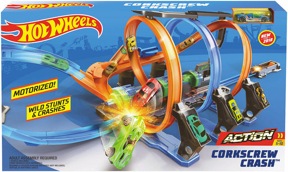a photo of the product: Hot Wheels Kurkentrekker Crash