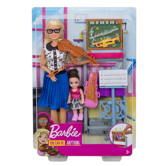a photo of the product: Barbie I Can Be - Muzieklerares