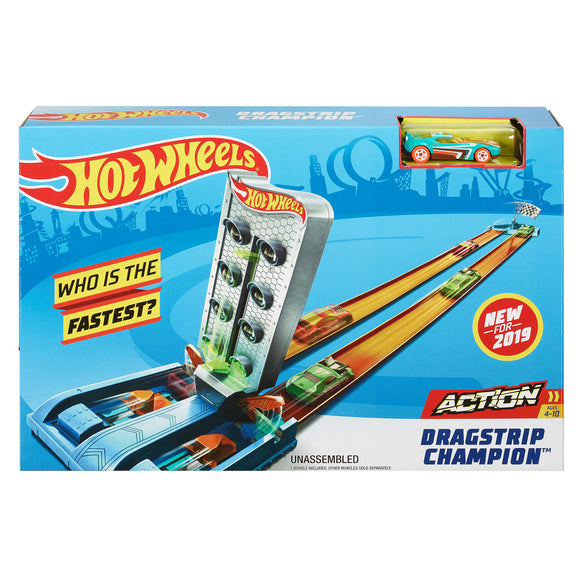 a photo of the product: Hot Wheels Action - Dragstrip Champion