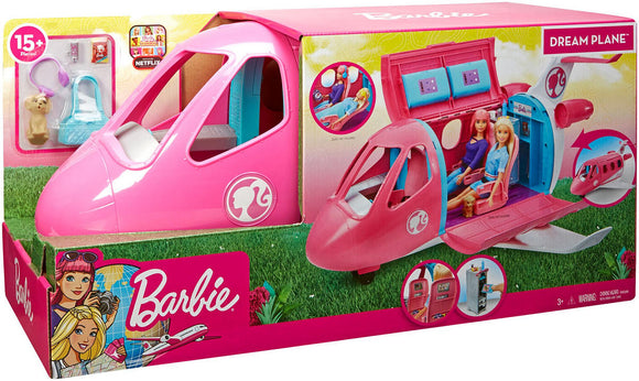 a photo of the product: Barbie Droomvliegtuig