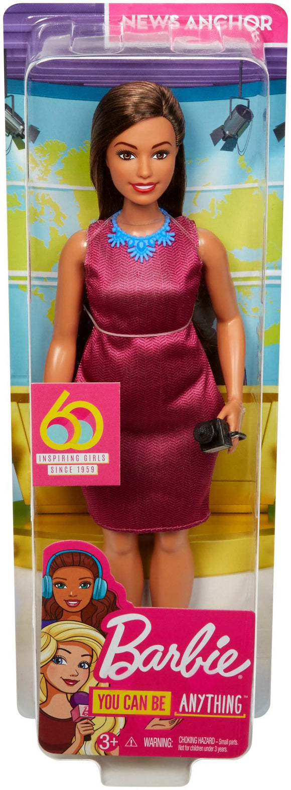 a photo of the product: Barbie I Can Be - Nieuwslezeres