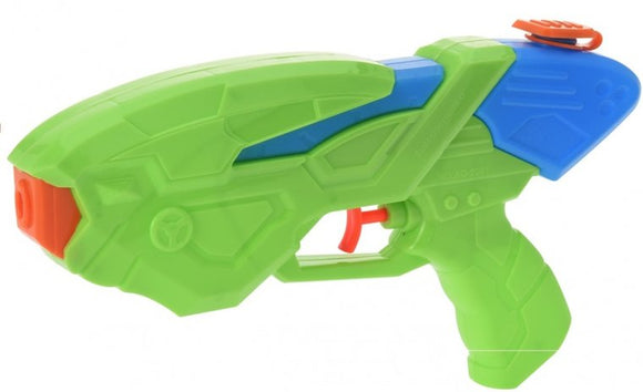a photo of the product: Free and Easy Waterpistool 25 cm groen