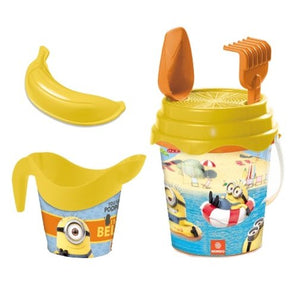 a photo of the product: Pro Beach strandset Minions 5-delig geel