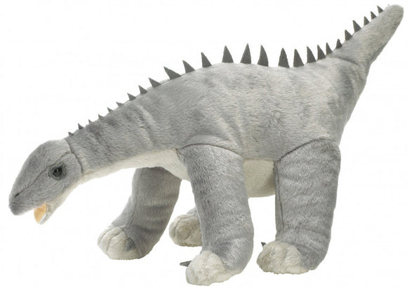 a photo of the product: Wild Republic knuffel NHM Diplodocus 30 cm pluche grijs