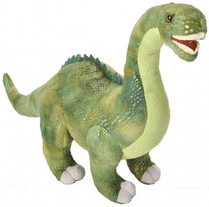 a photo of the product: Wild Republic knuffel Dinosauria Diplodocus 43 cm pluche groen
