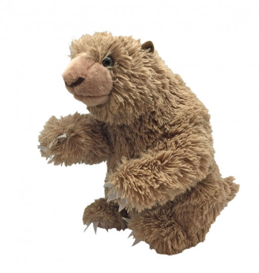 a photo of the product: Wild Republic knuffel NHM Megatherium 30 cm pluche bruin