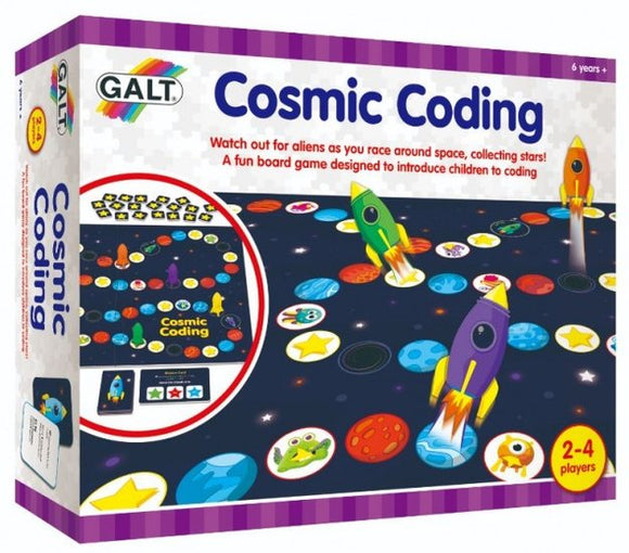 a photo of the product: Galt Play & Learn - Cosmic Coding Game (en)