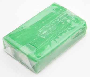 a photo of the product: Weible Knet Fantasie Klei Blokvorm Licht Groen