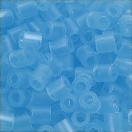 a photo of the product: Creotime strijkkralen blauw 6000 stuks