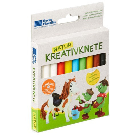 a photo of the product: Becks klei Kreativ Natur pony junior 10-delig