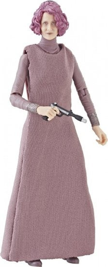 a photo of the product: Hasbro speelfiguur Star Wars Vice Admiral Holdo 15 cm paars