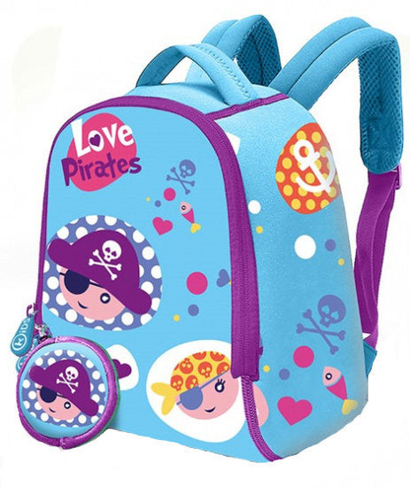 a photo of the product: Kids Licensing kinderrugzak Pirates junior 6 liter neopreen blauw