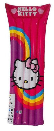 a photo of the product: Hello Kitty luchtbed Hello Kitty junior 185 cm paars/roze