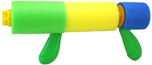 a photo of the product: Toyrific Waterpistool Water Canon 31cm Groen