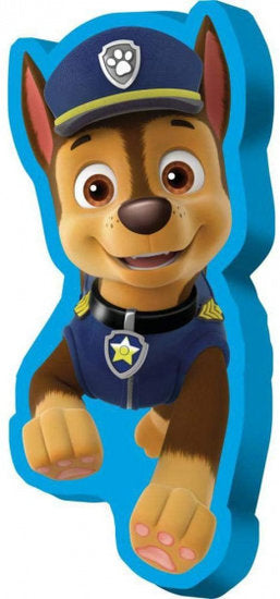 a photo of the product: Nickelodeon kussen Paw Patrol junior 70 foam blauw/bruin