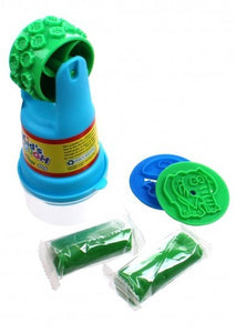 a photo of the product: LG-Imports Kid's Dough stamp 'n' roller 5-delige kleiset groen