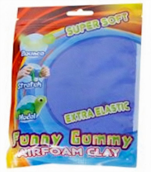 a photo of the product: Funny klei Gummy Airfoam junior 55 gram koningsblauw