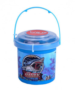 a photo of the product: Wild Republic mini-speelset Shark junior 20-delig