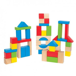 a photo of the product: Hape stapelblokken 50-delig