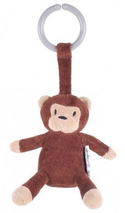 a photo of the product: natureZOO kinderwagenhanger aap 12 cm bruin