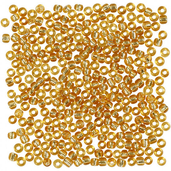a photo of the product: Creotime Rocailles goud 3 mm 25gr