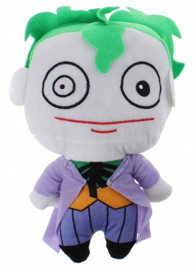a photo of the product: DC Comics knuffel Joker pluche 25 cm paars/wit