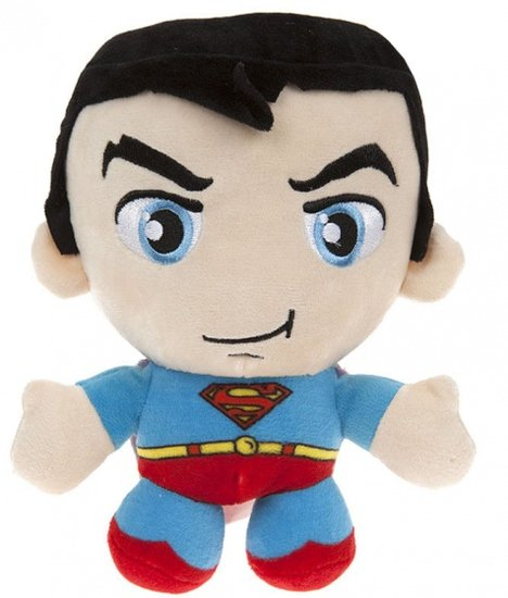 a photo of the product: DC Comics knuffel in cadeaubox Superman pluche 20 cm blauw