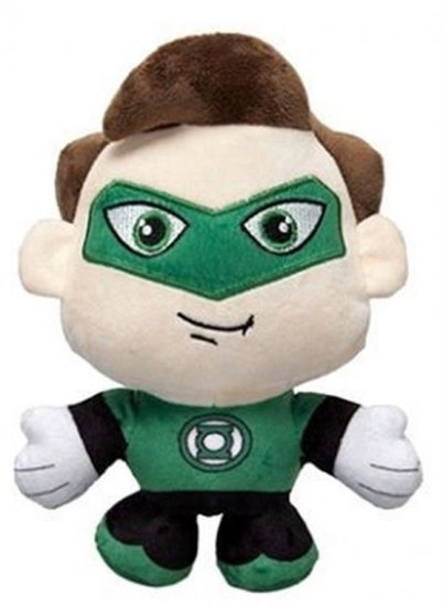 a photo of the product: DC Comics knuffel in cadeaubox The Lantern pluche 20 cm groen