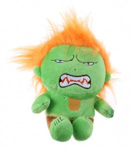 a photo of the product: Kamparo knuffel Street Fighter Blanka 25 cm