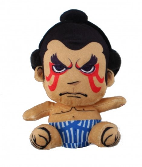 a photo of the product: Kamparo knuffel Street Fighter E. Honda 25 cm