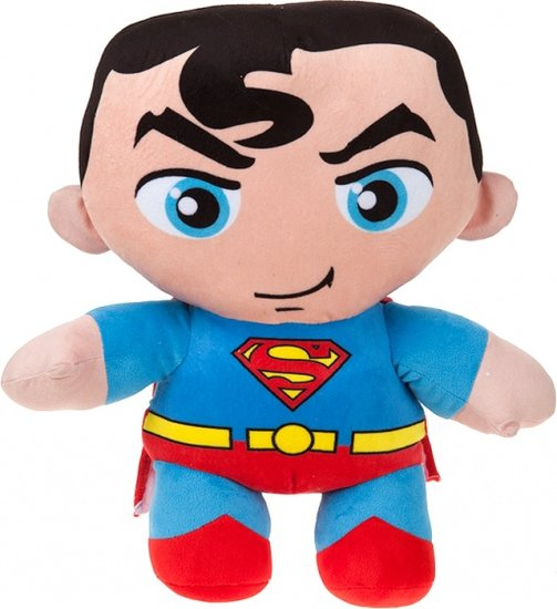a photo of the product: DC Comics knuffel Superman blauw/rood 43 cm