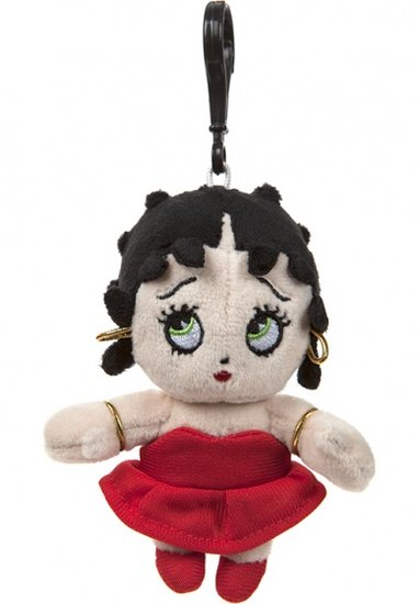 a photo of the product: Kamparo Betty Boop Clip-On knuffel 10 cm
