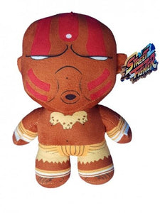 a photo of the product: Kamparo knuffel Street Fighter Dhalsim bruin 43 cm