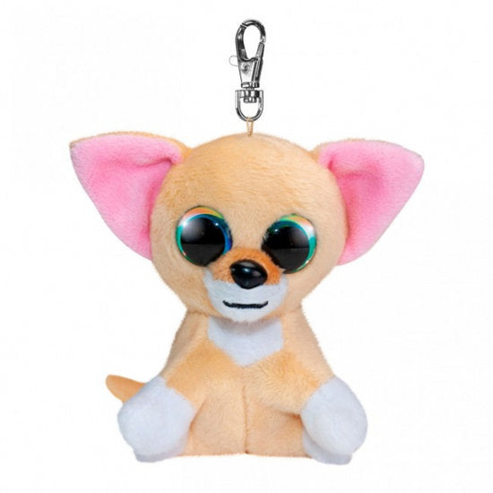 a photo of the product: Lumo Stars knuffel Chihuahua Nami junior 8,5 cm pluche beige