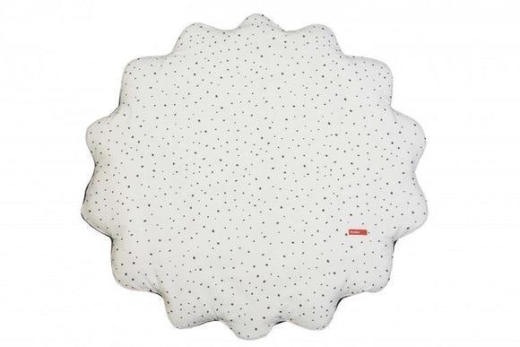 a photo of the product: Pericles speelkleed Spots diameter 78 cm wit/zwart