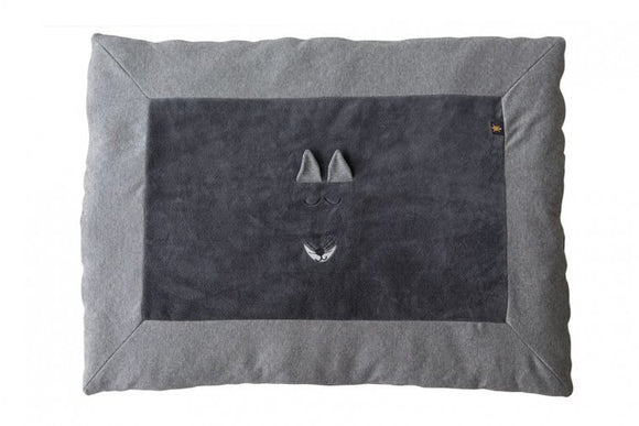a photo of the product: Vaco speelkleed Fox 93 x 72 cm blauw