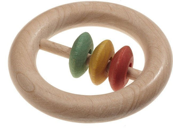 a photo of the product: Walter rammelaar hout rond 10 cm multicolor (biologisch)