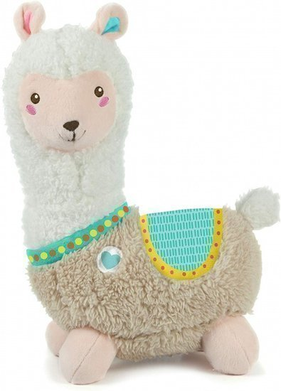 a photo of the product: Clementoni activity knuffel Lama 28 cm