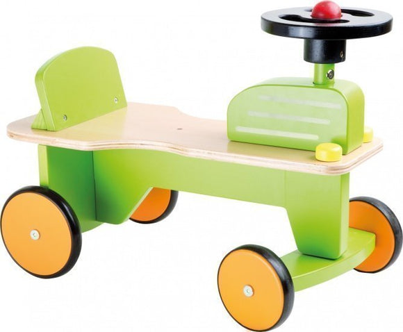 a photo of the product: Small Foot Loopfiets Tractor Junior Groen
