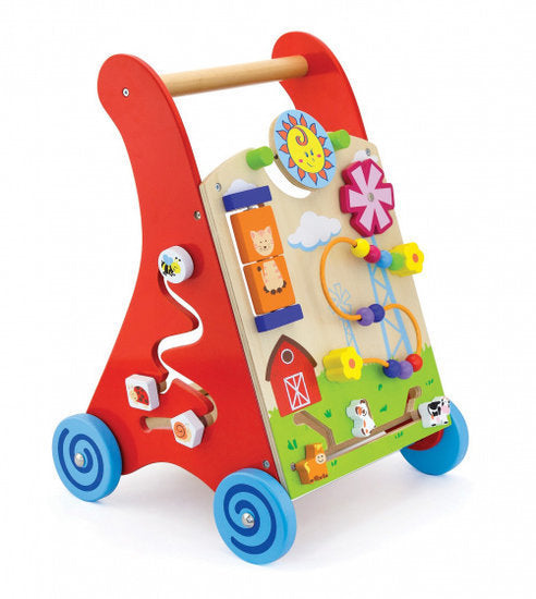 a photo of the product: Viga Toys loopwagen junior 45,5 cm hout