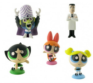 a photo of the product: Comansi speelfiguren set Power Puff Girls 24-delig