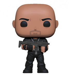 a photo of the product: Funko Pop! Movies: Hobbs and Shaw - Hobbs 9 cm vinyl