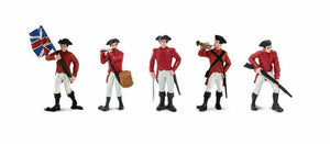 a photo of the product: Safari speelset Revolutionary War British army Toob 5-delig