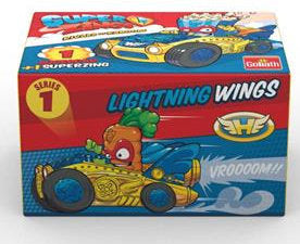 a photo of the product: Goliath superzings Supercar jongens wings-geel 2-delig