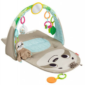 a photo of the product: Fisher-Price speelmat Activity Center Luiaard polyester 7-delig