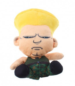 a photo of the product: Kamparo knuffel Street Fighter Guile 15 cm