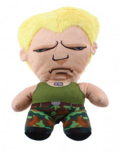 a photo of the product: Kamparo knuffel Street Fighter Guile 20 cm
